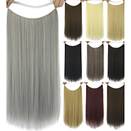 Human Hair Extensions syntetisk 80G 60CM Hår extension