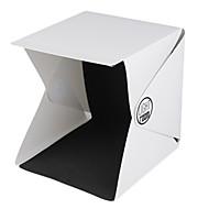 mais novo portátil mini-foto pano de fundo caixa de estúdio de fotografia built-in caixa de luz fotografia