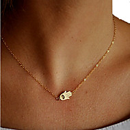 Necklace Pendant Necklaces Jewelry Halloween / Party / Daily / Casual Fashion Alloy Gold 1pc Gift