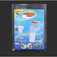 10 Stück gripeez herausnehmbaren Innenaußendoppelseitig super Grip Anbringzonen