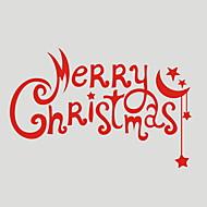 כריסטמס / חג מדבקות קיר מדבקות קיר מטוס מדבקות קיר דקורטיביות,PVC חוֹמֶר ניתן להסרה קישוט הבית מדבקות קיר
