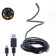 Joyshine 3.5m 7mm 6LED 2 in 1 Android Endoscope Waterproof Inspection Camera Micro USB Video Camera