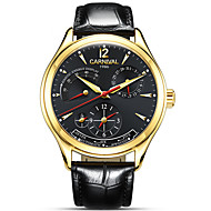 Unique Design Style Energy Display Automatic Watches Switzerland Carnival Famous Brand Watch 2016 New Luxury Men Wrist watch