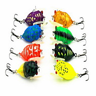 "1 pcs Metal Bait Hard Bait Assorted Colors 6.5 g/1/4 oz. Ounce mm/1-5/8"" inch,Metal Bait Casting / General Fishing"