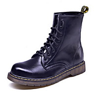 BootsitMiehet-Nahka-Musta Harmaa Ruskea-Ulkoilu Rento