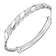 S999 Bracelet Bangles Sterling Silver Others Fashion Birthday Gift Valentine Jewelry Gift Silver1pc
