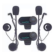 2db freedconn 800m vezeték nélküli bluetooth bukósisak kaputelefon kaputelefon fejhallgató FM rádióval FDC kaputelefon motorkerékpárosok