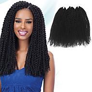 Insel Twist Pre-Schleife Crochet Borten Haarverlängerungen 16Inch Kanekalon 1 Package For Full Head Strand 148g Gramm Haar Borten