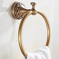 タオルラック&ホルダー 新古典主義 丸形 真鍮