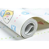 Riscas Animal Papel de Parede Para Casa Contemporâneo Revestimento de paredes , Não-tecido de papel Material adesivo necessáriopapel de