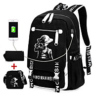 Unisex Canvas Sports Casual Outdoor Bag Sets All Seasons