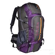 Men Canvas / Nylon Sports / Outdoor Backpack / Sports & Leisure Bag / Travel Bag-Purple / Blue / Yellow / Orange