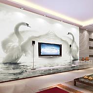 꽃 아트 데코 3D 홈 벽지 콘템포라리 벽 취재 , 캔버스 자료 접착제가 필요 벽화 , 룸 Wallcovering 협력