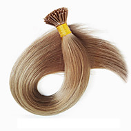 브라질 처녀 사람의 모발 유럽과 미국의 내가 팁 머리 확장 말레이시아 부드러운 직선 융합 머리 확장을 100strands 16-24inch