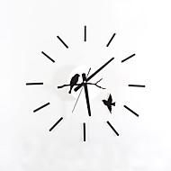 Módní a moderní retro Zvířata Prázdninový Inspirační Rodina Komiks Nástěnné hodiny,Kulatý Novinka Akryl Skleněný Kov 55 Indoor / Outdoor