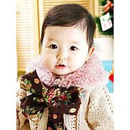 女性 スカーフ,コットン 冬 ブラウン ピンク レッド