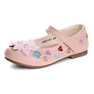 Flats Spring Fall Comfort Flower Girl Shoes Light Up Shoes Leatherette Wedding Dress Casual Party & Evening Flat HeelRhinestone Applique