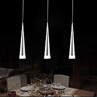 5 Pendant Light ,  Modern/Contemporary Chrome Feature for LED Metal Living Room Bedroom Dining Room Kitchen