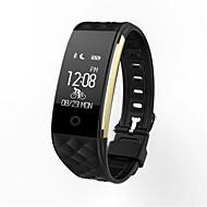 IP67 à prova d'água dinâmica de monitorização da frequência cardíaca movimento sono passo Bluetooth wearable pulseira inteligente lembrete
