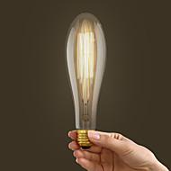 40w e27 estilo retro indústria lâmpada incandescente transparente em forma de frutas