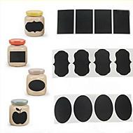 36pcs kridt pen tavle mærkat etiketter vinyl køkken jar indretning decals 5cm x 3,5 cm