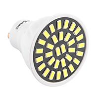 7W GU10 LED 스팟 조명 T 32 SMD 5733 500-700 lm 따뜻한 화이트 차가운 화이트 장식 AC 220-240 AC 110-130 V 1개