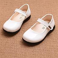 Za djevojčice Ravne cipele Udobne cipele PU Ležeran Crna Crvena Bijela