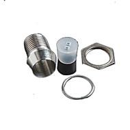 3 milímetros levou luz define suporte da lâmpada sombra espaçamento da coluna de isolamento (5pcs)