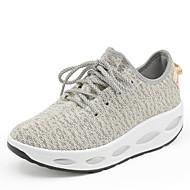 Черный Зеленый Красный Белый Серый-Женский-Для прогулок-Полиуретан-На плоской подошве-Удобная обувь-Спортивная обувь