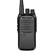 Wanhua htd815 kommersielle profesjonell trådløs walkie-talkie 6w uhf 403-480mhz