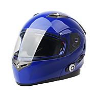 новый мотоцикл Bluetooth умный шлем мотоцикла полное лицо / половина лица встроенная поддержка FM селекторной устройство 3 райдеры