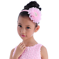 Girl's Tulle Headpiece-Wedding Special Occasion Outdoor Headbands Flowers 1 Piece