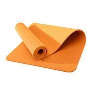 TPE Yoga Mats Eco Friendly Libre de Olores 6 mm Rosa Verde Naranja Morado Azul cielo Other