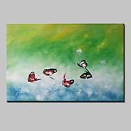 Ručně malované Zvíře Pop olejomalby,Moderní Realismus Jeden panel Plátno Hang-malované olejomalba For Home dekorace