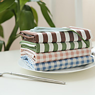 1Pcs Nordic Style Geometry 100%cotton Table Mat Napkins Placemat Kitchen Insulation Pads Kitchen Coaster Random Style
