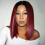 καυτή πώληση Περού μαλλιά σύντομο πλήρη δαντέλα bob περούκα ίσια μαλλιά σκούρο κόκκινο χρώμα ανθρώπινη παρθένο bob μαλλιά περούκα δαντέλα