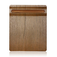 samdi puha fa egérpad mat multifunkcionális tolltartóval ultra sima felület egér tömörfa tolltartó dió