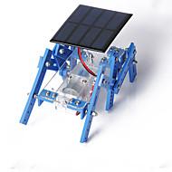 rák királyság napelemek hexapod robot modell összeszerelt diy kézzel készített anyag csomag