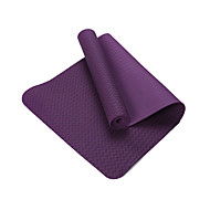 TPE Jóga Mats Eco Friendly Szagmentes 8.0 mm Bíbor Other