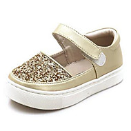 Girl's Loafers & Slip-Ons Comfort PU Casual Silver Gold