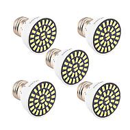 7W E26/E27 LED 스팟 조명 T 32 SMD 5733 500-700 lm 따뜻한 화이트 차가운 화이트 장식 V 1개