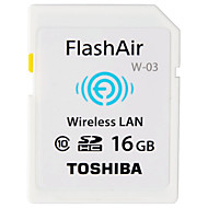 Toshiba 16GB WiFi SD-kort minneskort class10 Flash air