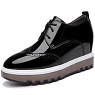 Women's Oxfords Spring Summer Comfort Leatherette Office & Career Dress Casual Platform Others Black White