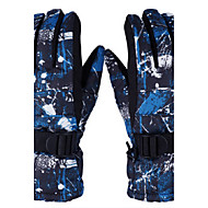 Han edition ski gloves Professional storm water proof Outdoor thermal cycling the cold winter gloves for men and women