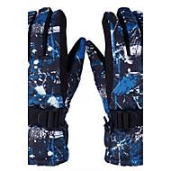 한 판 스키 장갑 전문 폭풍 방수 야외 열 사이클링에게 남성과 여성을위한 추운 겨울 장갑