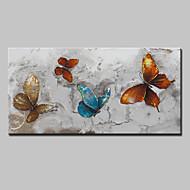 Ručně malované Abstraktní Zvíře olejomalby,Moderní evropský styl Jeden panel Plátno Hang-malované olejomalba For Home dekorace