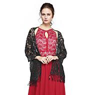 Sjal til kvinner Sjale Palliet-belagt Kashmir Bryllup Fest & Aften Dusker Paljetter