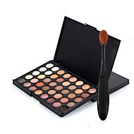 40 Paleta očních stínů Suché Oční stíny paleta Stlačený prášek Běžný Günlük Makyaj