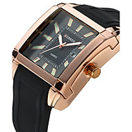 Men's Women's Unisex Sport Watch Dress Watch Fashion Watch Wrist watch Quartz Genuine Leather Band Charm Casual Luxury Multi-Colored