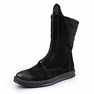 Αντρικό Μπότες Μοντέρνες μπότες Μπότες Μάχης Νάπα Leather Φθινόπωρο Χειμώνας Causal Πάρτι & Βραδινή Έξοδος Μαύρο 2,5εκ - 4,5εκ